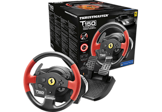 Volante - Thrustmaster - Volante T150 Force Feedback Racing Wheel Ferrari Edition, PS3/PS4/PC