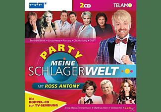 VARIOUS - Meine Schlagerwelt-Die Party Mit Ross Antony  - (CD)