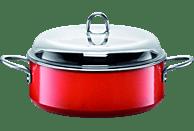 SILIT 21.3023.6368 Energy Red Schmortopf mit Deckel (Silargan®)