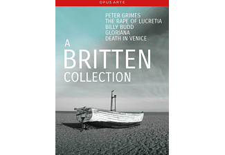 VARIOUS, La Scala Orchestra, English National Opera Orchestra, The London Philharmonic Orchestra, Orchestra Of The Royal Opera House - A Britten Collection  - (DVD)