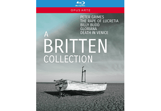 John Graham-hall, Susan Gritton - A Britten Collection  - (Blu-ray)
