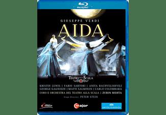 Chor und Orchester des Teatro alla Scala, Kristin Lewis, Carlo Colombara, Fabio Sartori, Rachvelishvili Anita - Aida  - (Blu-ray)
