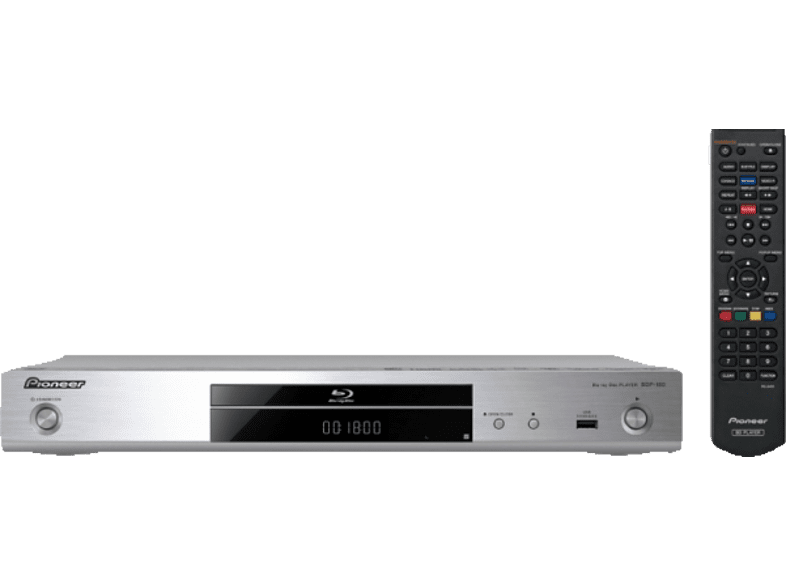 PIONEER BDP-180S 3D Blu-ray Player (Silber)