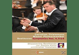 Wiener Philharmoniker - Sinfonien 4-6  - (DVD)