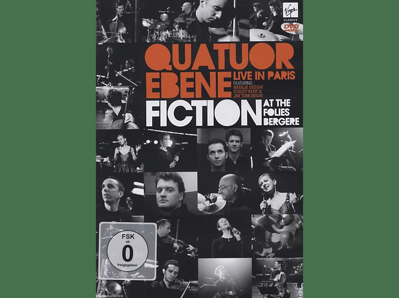 Quatuor Ébène, Stacey Kent, Natalie Dessay - Fiction: Live At Folies Bergere [DVD]