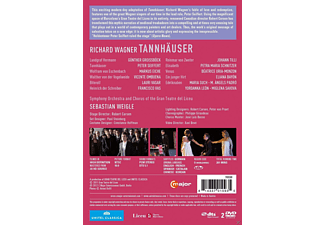 Peter Seiffert, Petra Maria Schnitzer, Beatrice Uria-monzon, Markus Eiche, Günther Groissbock, Chorus of the Gran Teatre del Liceu, Symphony Orchestra of the Gran Teatre del Liceu - Tannhäuser  - (DVD)