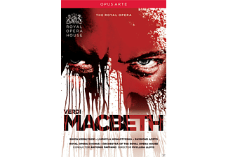 Simon Kennlyside, Liudmyla Monastyrska, Raymond Aceto, Royal Opera Chorus, Orchestra Of The Royal Opera House - Macbeth  - (DVD)