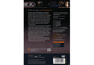 Teatro Real Madrid-Ballet, Alfredo Tejada, Enrique Pantoja, Gabriel Cortes, Joni Cortes, Antonio Solera, Camaron de Pitita - Bodas De Sangre/Suite Flamenca  - (DVD)