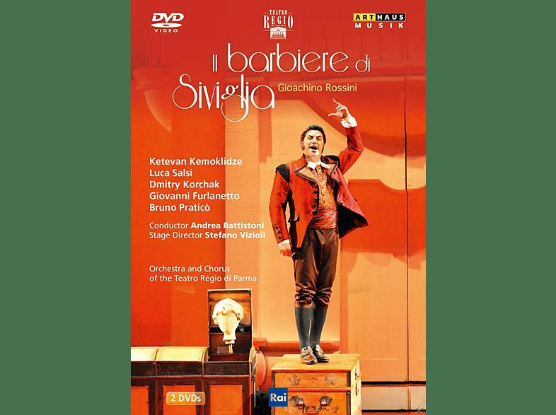 Ketevan Kemoklidze, Luca Salsi, Giovanni Furlanetto, Bruno Pratico, Chorus of the Teatro Reggio di Parma, Orchestra of the Teatro Reggio di Parma - Il Barbiere Di Siviglia [DVD]