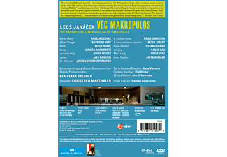 Angela Denoke, Raymond Very, Peter Hoare, Jurgita Adamonyte, Johan Reuter, Wiener Philharmoniker - Die Sache Makropulos  - (DVD)