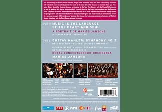 Ricarda Merbeth, Bernarda Fink, Netherlands Radio Choir, Royal Concertgebouw Orchestra - Music Is The Language Of The Heart And Soul  - (DVD)