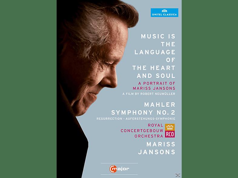 Ricarda Merbeth, Bernarda Fink, Netherlands Radio Choir, Royal Concertgebouw Orchestra - Music Is The Language Of The Heart And Soul [DVD]