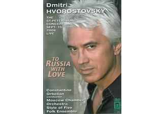 Dmitri Hvorostovsky, Moscow Chamber Orchestra - To Russia With Love  - (DVD)
