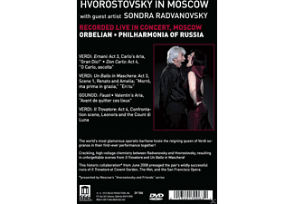 Dmitri Hvorostovsky, Philharmonia of Russia - Hvorostovsky In Moscow  - (DVD)
