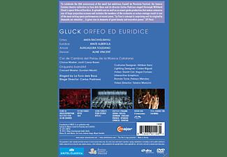 Maite Alberola, Auxiliadora Toledano, Orquesta bandArt, Rachvelishvili Anita - Orpheus Und Eurydike  - (DVD)