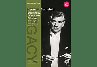 London Symphony Orchestra - The Rite Of Spring / Symphony No. 5  - (DVD)