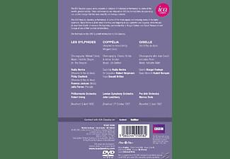 VARIOUS - Les Sylphides/Coppelia/Giselle  - (DVD)