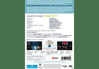 Bruno Ribeiro, Alessandro Spina, Mauro Buffoli, Nucci Leo, Orchestra Teatro Regio Di Parma - Nabucco  - (DVD)
