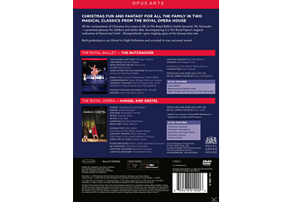 Orchestra Of The Royal Opera House, VARIOUS - A Christmas Celebration - The Nutcracker / Hansel And Gretel  - (DVD)