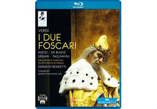 Orchestra/Coro Teatro Regio Pa, Renzetti/Nucci/De Biasio/+ - Die Beiden Foscari  - (Blu-ray)