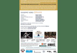 Giacomo Prestia, Alessandro Svab, Samuele Simoncini, Susan Neves, Marco Berti, Nicoletta Zanini, Orchestra Del Teatro Regio Di Parma, Coro Del Teatro Regio Di Parma, Carlo Guelfi - Ernani  - (DVD)