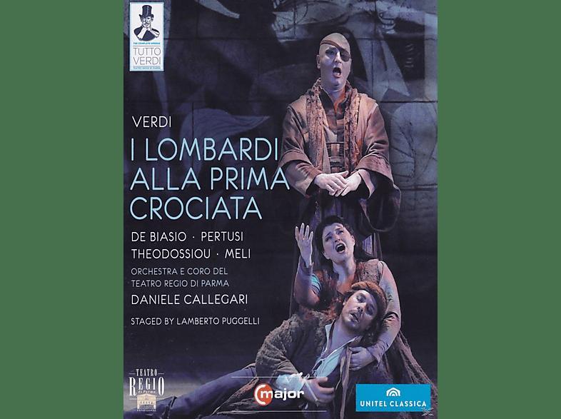 Cristina Giannelli, Orchestra E Coro Del Teatro Regio Di Parma, Pertusi Michele, Roberto De Biasio - I Lombardi [DVD]