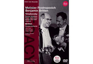 The Aldeburgh Festival Singers, English Chamber Orchestra, Pears Peter - Mstislav Rostropovich / Benjamin Britten  - (DVD)