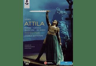 Giovanni Batista Parodi, Sebastian Catana, Susanna Branchini, Roberto de Biaso, Orchestra E Coro Del Teatro Regio Di Parma - Attila  - (DVD)