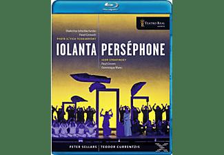 Cernoch Scherbachenko, Teodor/teatro Real Currentzis - Iolanta/Perséphone  - (Blu-ray)