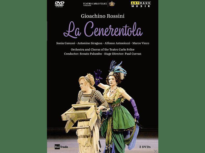 Sonia Ganassi, Antonino Siragusa, Alfonso Antoniozzi - La Cenerentola [DVD]