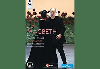 Enrico Iori, Sylvie Valayre, Tiziana Tramonti, Roberto Iuliano, Nicola Pascoli, Orchestra Del Teatro Regio Di Parma, Nucci Leo - Macbeth  - (DVD)