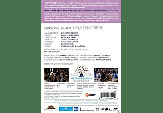 Giacomo Prestia, Aquiles Machado, Lucrecia Garcia, Walter Omaggio, Dario Russo, Massimiliano Chiarolla, Coro Del Teatro Di San Carlo, Orchestra Del Teatro Di San Carlo, Ruciński Artur - I Masnadieri  - (DVD)