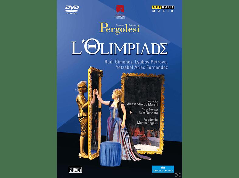Raul Gimenez, Lyubov Petrova, Yetzabel Arias Fernández, Academia Montis Regalis - L'olimpiade [DVD]