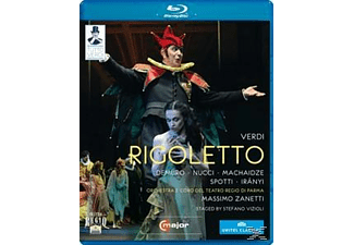 Orchestra/Coro Teatro Regio Pa, Zanetti/Demuro/Nucci - Rigoletto  - (Blu-ray)