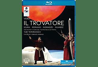 Orchestra/Coro Teatro Regio Pa, Temirkanov/Sgura/Romano - Der Troubadour  - (Blu-ray)