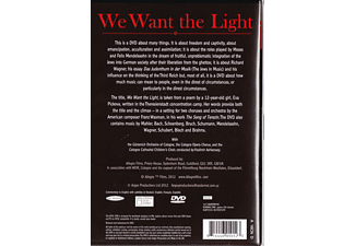 Various - We Want The Light  - (DVD)