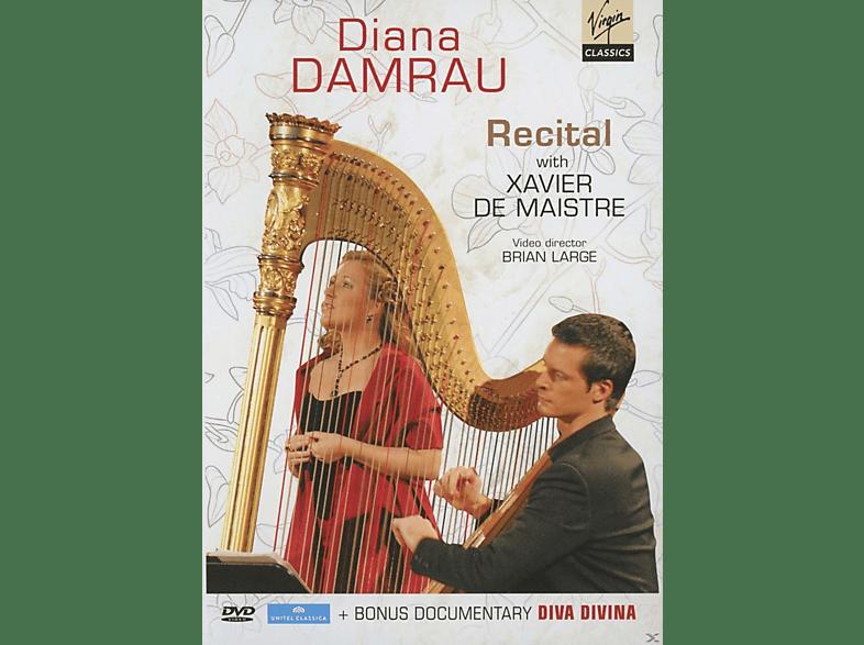 Diana Damrau, Xavier de Maistre - Recital & Diva Divina [DVD]