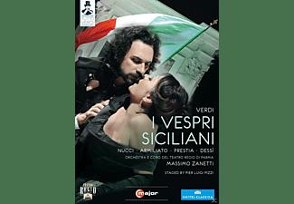 Fabio Armiliato, Giacomo Prestia, Coro Del Teatro Regio Di Parma, Orchestra Del Teatro Regio Di Parma, Nucci Leo, Dessi Daniela - I Vespri Siciliani  - (DVD)