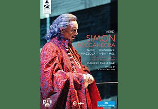 Simone Piazzola, Tamar Iveri, Roberto Scanduzzi, Orchestra E Coro Del Teatro Regio Di Parma, Nucci Leo - Simon Boccanegra  - (DVD)