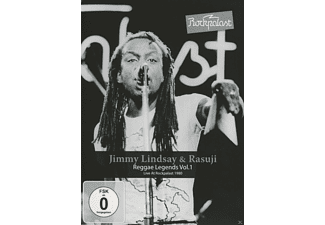 Jimmy Lindsay, Rasuji - Rockpalast-Reggae Legends Vol.1 - (DVD)