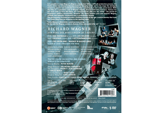 Jukka Rasilainen, Stefan Heibach, Simone Schröder, Stig Andersen, Leonid Zakhozhaev, Teatro Colon Orchestra, Chorus Roberto Paternostro - The Colón Ring  - (DVD)