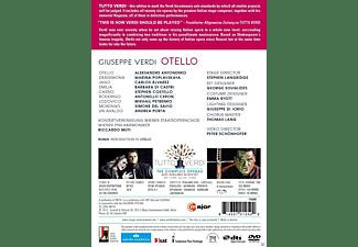 Aleksandrs Antonenko, Marina Poplavskaya, Carlos Alvarez, Konzertvereinigung Wiener Staatsopernchor, Wiener Philharmoniker - Otello  - (DVD)