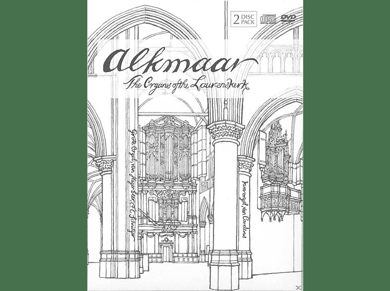 VARIOUS - ALKMAAR-ORGANS OF THE LAURENSKERK [DVD + CD]