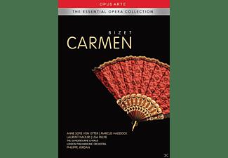 Anne Sofie Von Otter, Marcus Haddock, Laurent Naouri, Lisa Milne, Jonathan Best, Anthony Wise, The London Philharmonic Orchestra - Carmen  - (DVD)