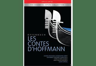 Aquiles Machado, Konstantin Gorny, Katharine Goeldne, Maria Bayo, Milagros Poblador, Valentina Kutzarova, Bilbao Orkestra Sinfonikoa - Les Contes D'hoffmann  - (DVD)