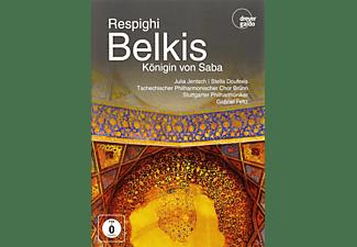 Julia Jentsch, Stella Doufexis, Tschechischer Philharmoniker Chor Brünn, Stuttgarter Philharmoniker - Respinghi: Königin Von Saba  - (DVD)
