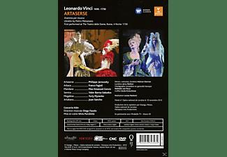 Philippe Jaroussky, Franco Fagioli, Valer Barna-sabadus, Yuriy Mynenko, Juan Sancho, Concerto Köln, Cencic Max Emanuel - Vinc: Artaserse  - (DVD)