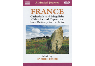 A Musical Journey - France: Cathedrals And Megaliths, Calvaries & Tapestries  - (DVD)