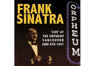 Frank Sinatra - Live At The Orpheum Vancouver June 8th 1957  - (CD)
