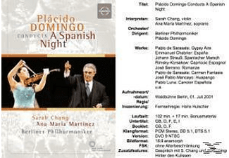 Domingo/BP/Chang/+ - A Spanish Night  - (DVD)